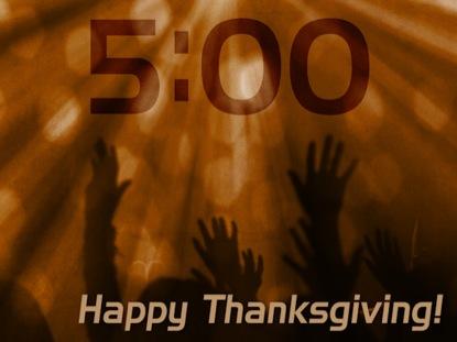 THANKSGIVING WORSHIP COUNTDOWN 2