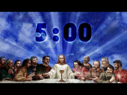 THE LAST SUPPER COUNTDOWN 2