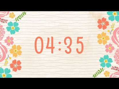 FLORAL COUNTDOWN