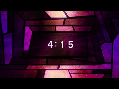 STAINED GLASS COUNTDOWN