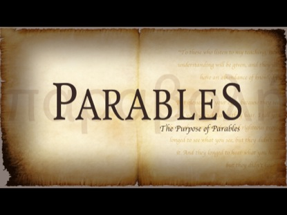 AN INTRODUCTION TO PARABLES