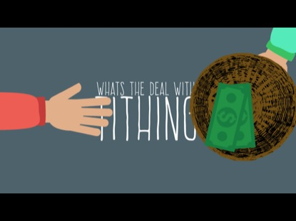 WHAT'S UP WITH TITHING