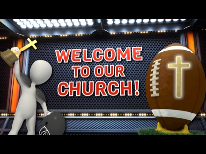 FOOTBALL THEMED WELCOME