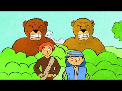 GREAT MOMENTS IN BIBLE HISTORY ELISHA AND THE BEARS