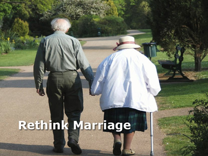 RETHINK MARRIAGE