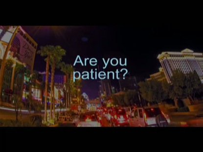 ARE YOU PATIENT?