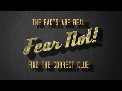 FEAR NOT QUIZ, PART 1