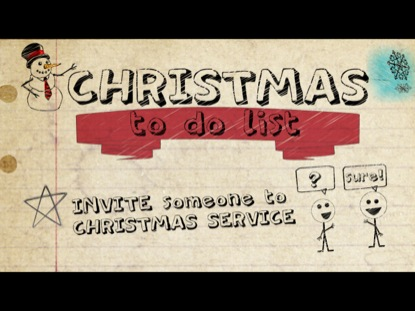 TO DO LIST (CHRISTMAS INVITE)