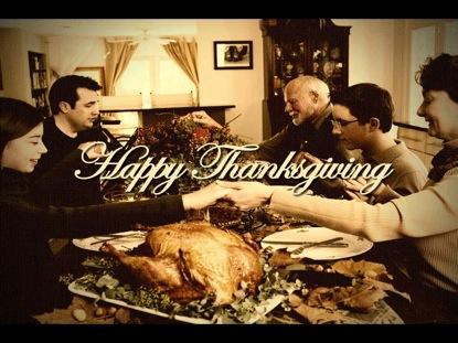 HAPPY THANKSGIVING - DINNER