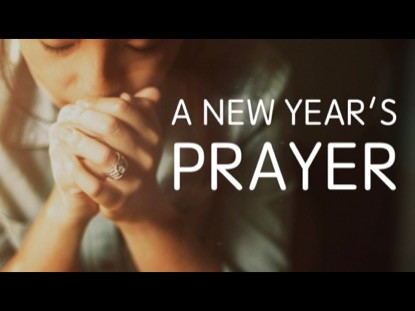 A NEW YEAR'S PRAYER