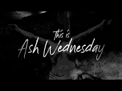 THIS IS ASH WEDNESDAY