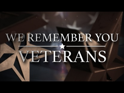 WE REMEMBER YOU (VETERAN'S DAY)