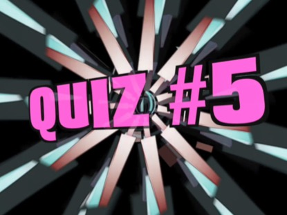 BIBLE BOOKS QUIZ VERSION 5
