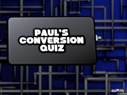 BIBLE QUIZ - PAUL'S CONVERSION