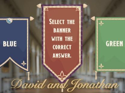 BIBLE QUIZ DAVID AND JONATHAN
