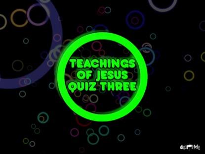 BIBLE QUIZ - NICODEMUS