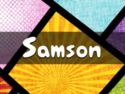 BIBLE QUIZ SAMSON