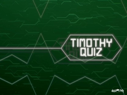BIBLE QUIZ - TIMOTHY