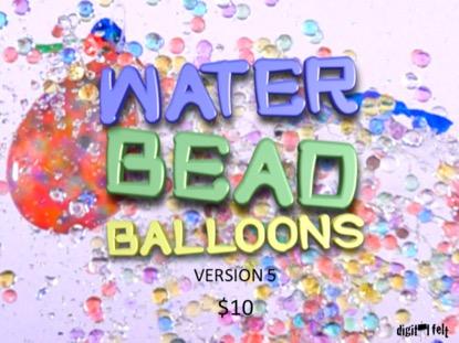WATER BEAD BALLOONS 5