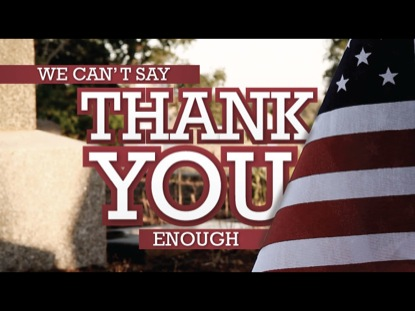WE CAN'T SAY THANK YOU ENOUGH