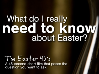 WHAT DO I REALLY NEED TO KNOW ABOUT EASTER?