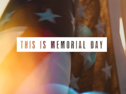 THIS IS MEMORIAL DAY