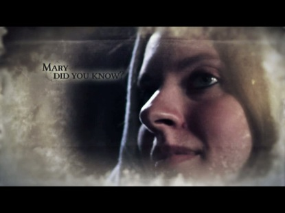 MARY DID YOU KNOW
