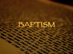 JEWISH BAPTISM