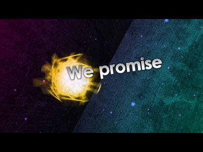 WE PROMISE