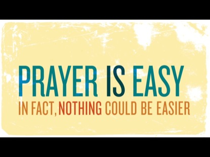 A NEW NORMAL FOR PRAYER