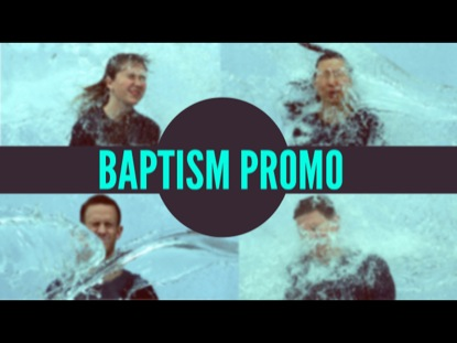 BAPTISM PROMO