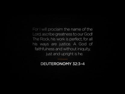 CALL TO WORSHIP 1