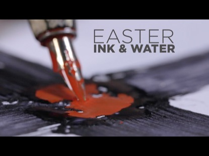 EASTER INK AND WATER