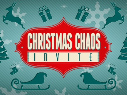 CHRISTMAS CHAOS INVITE