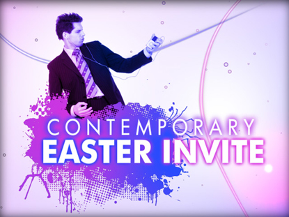 CONTEMPORARY EASTER INVITE
