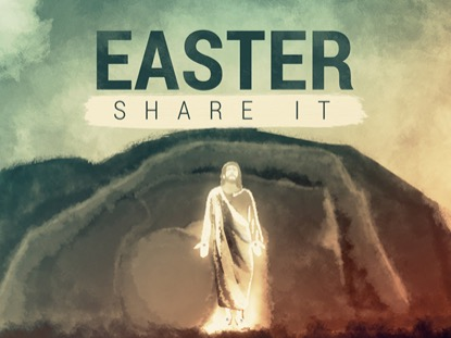 Easter: Share It | Hyper Pixels Media | Preaching Today Media