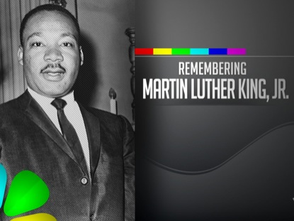 REMEMBERING MARTIN LUTHER KING JR