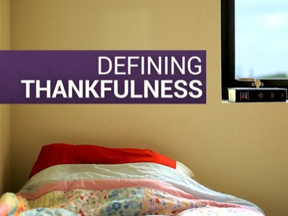 DEFINING THANKFULNESS