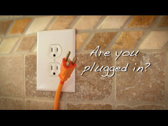 PLUGGED IN?