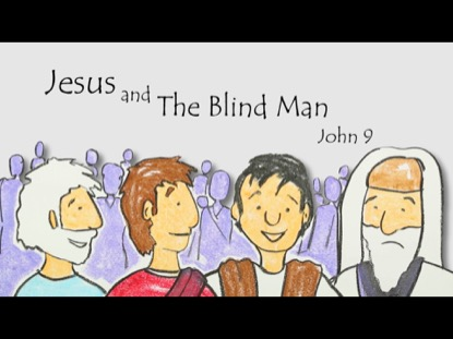 JESUS AND THE BLIND MAN