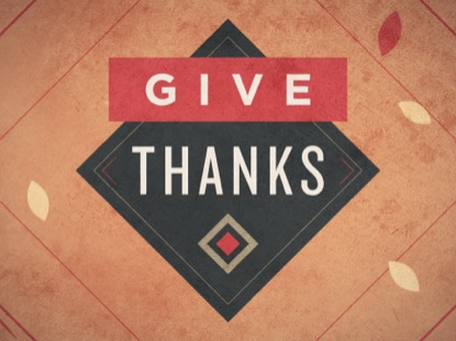 GIVE THANKS WORSHIP INTRO