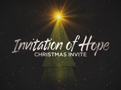 INVITATION OF HOPE CHRISTMAS