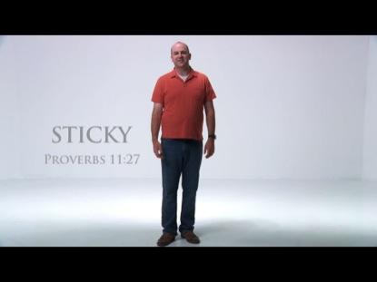 STICKY PROVERB