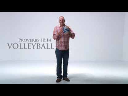 VOLLEYBALL PROVERB