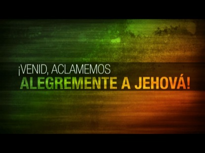 PSALM 95 WORSHIP INTRO ESPANOL
