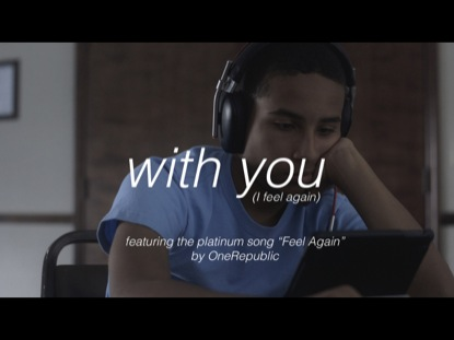WITH YOU (I FEEL AGAIN)