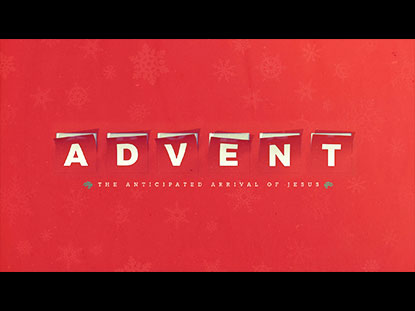 CHRISTMAS ADVENT BUMPER