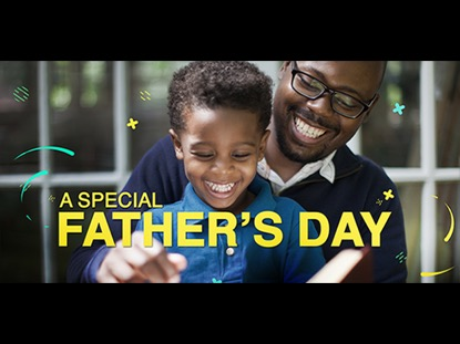 A SPECIAL FATHER'S DAY