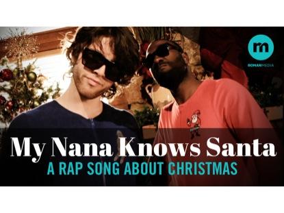 MY NANA KNOWS SANTA