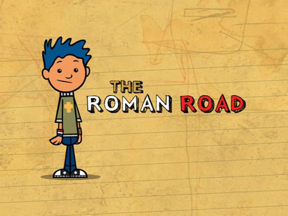 photograph regarding Romans Road Printable titled The Roman Highway Salty Image Studio Small children Films